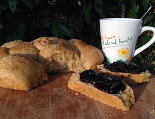 pane olio e zucchero