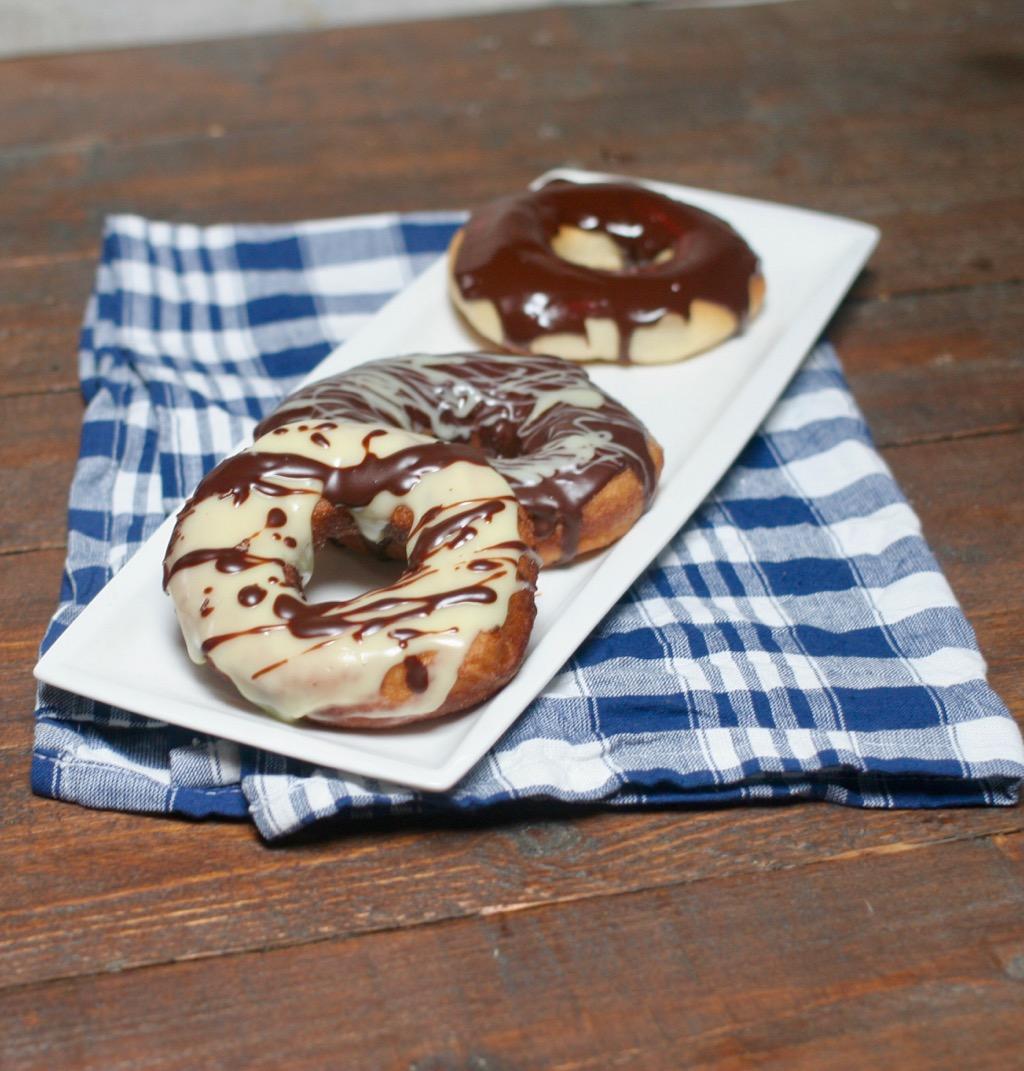 donuts a lievitazione naturale