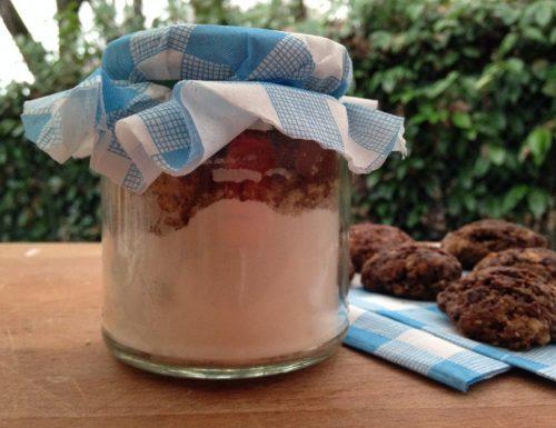 preparato per biscotti alle nocciole e cacao