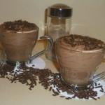 mousse al cioccolato fondente, ricetta golosa