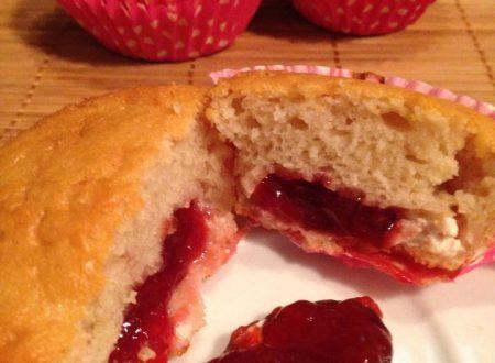 muffin alle fragole e vaniglia