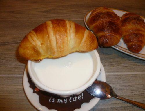 croissants francesi, ricetta lievitata