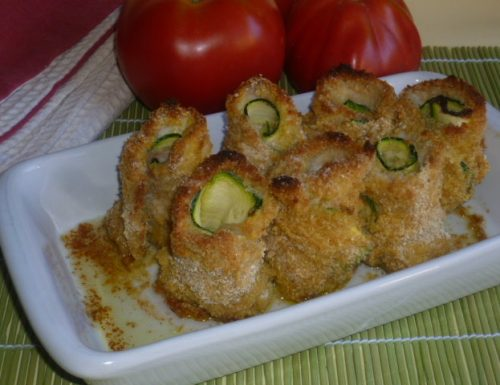 involtini impanati con zucchine