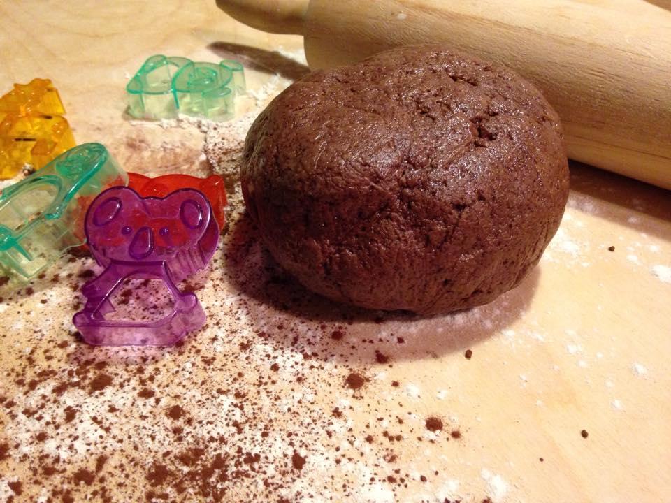 frolla al cacao senza uova