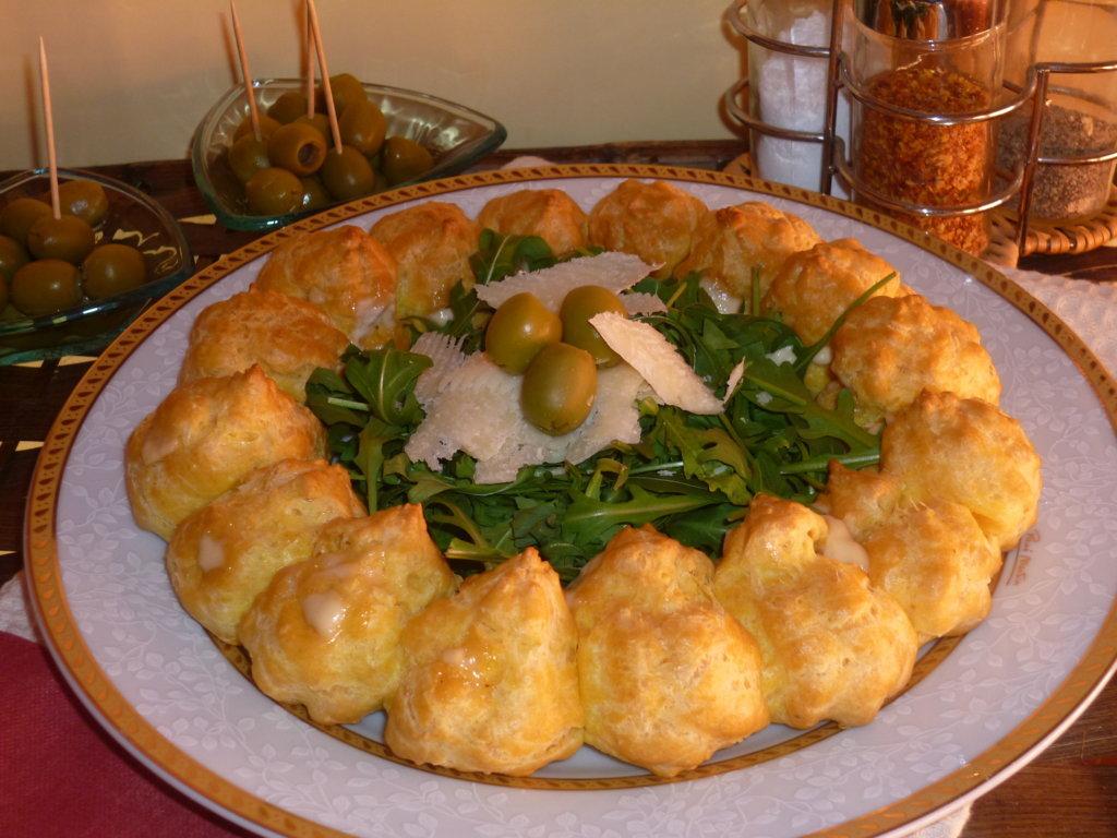 corona salata farcita