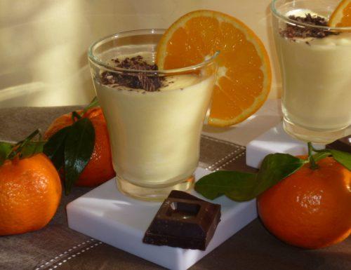 crema arancia e cioccolato