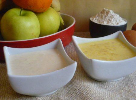 pastelle dolci per frutta