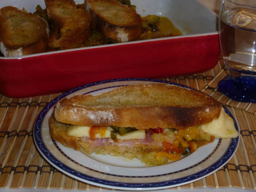 torta di pane alle verdure