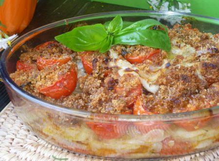 teglia di verdure agli aromi