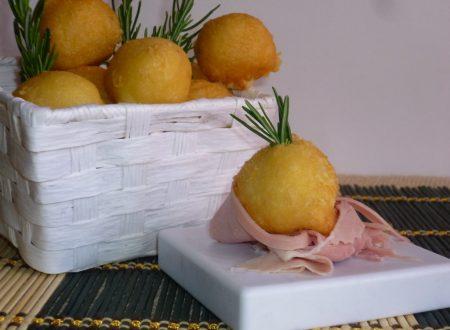 bignè soufflè di patate