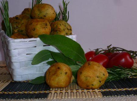 bignè salati alle erbe aromatiche