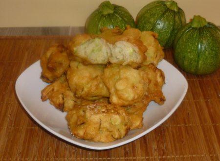 frittelle di zucchine in pastella