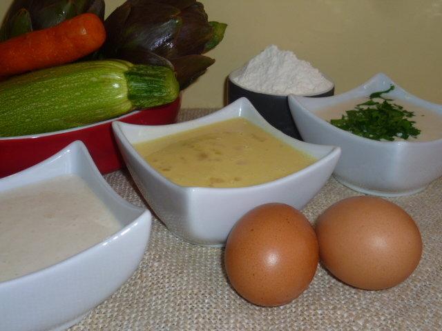 pastelle salate per fritture