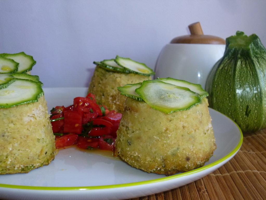 budini al forno con zucchine