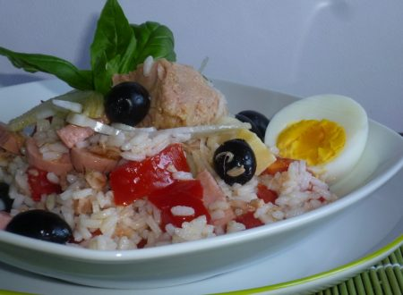 insalata di riso estiva
