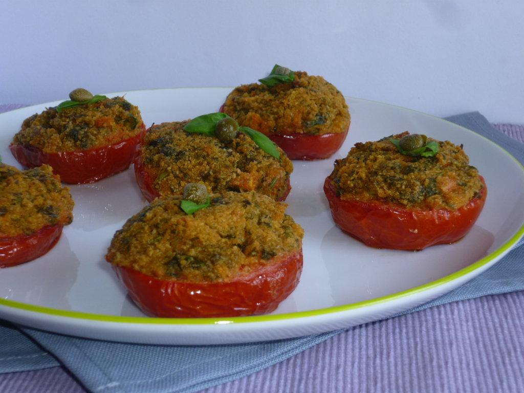 ricetta dei pomodori arraganati