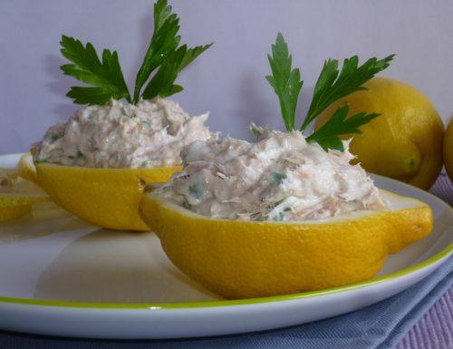 mousse di tonno al limone