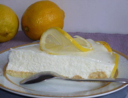 semifreddo alla ricotta e limone