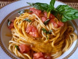 pomodoro fresco e basilico