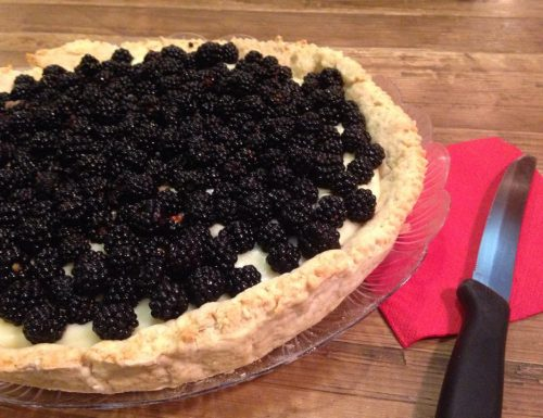 crostata more e crema