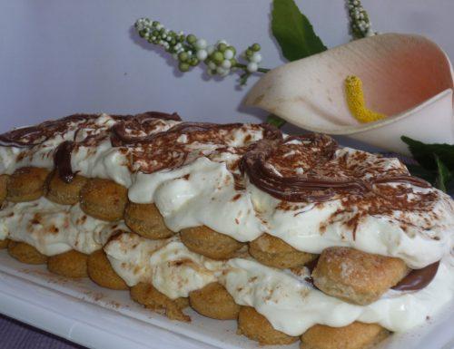semifreddo con camy cream e nutella