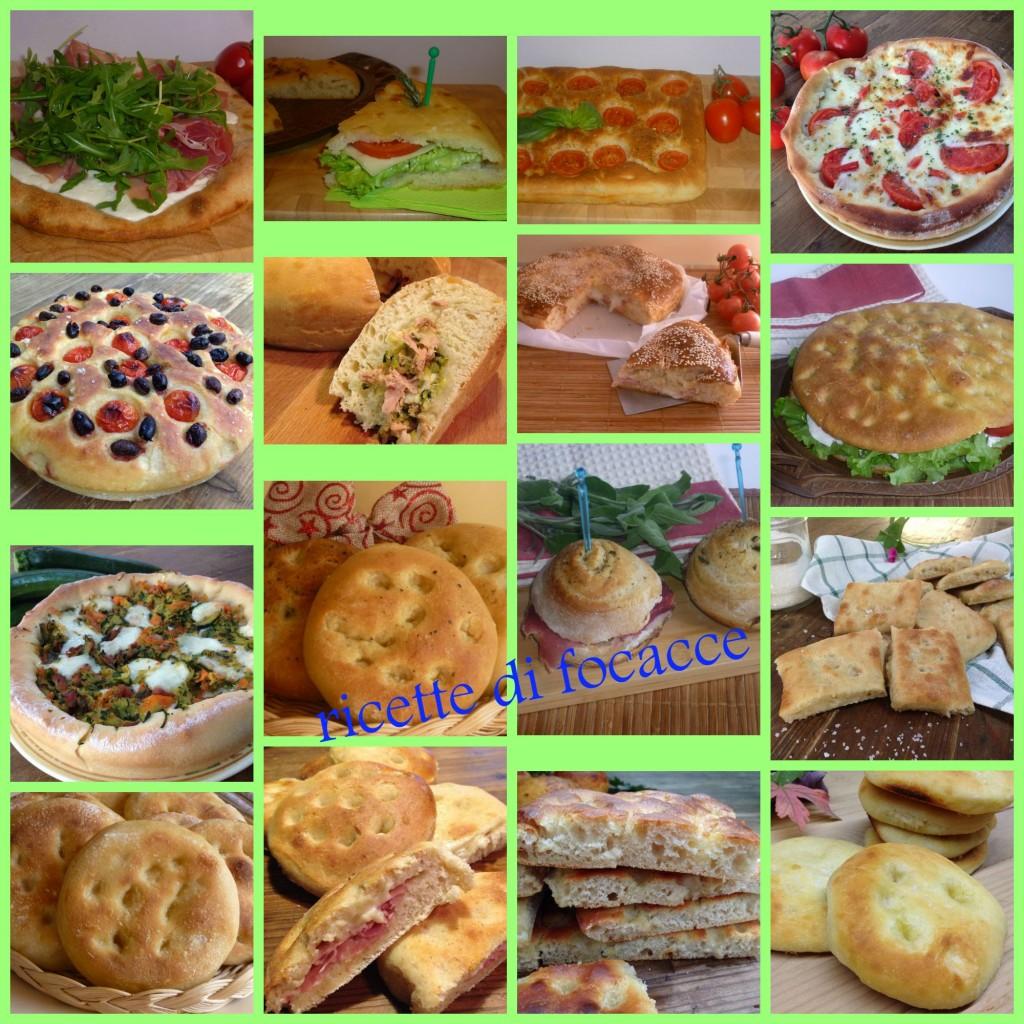ricette di focacce lievitate