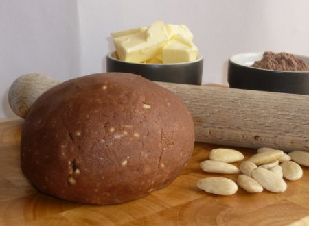 pastafrolla cacao e mandorle senza uova