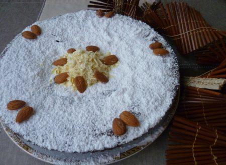 ricetta della caprese al cioccolato bianco