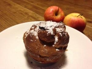 muffin alle mele senza grassi