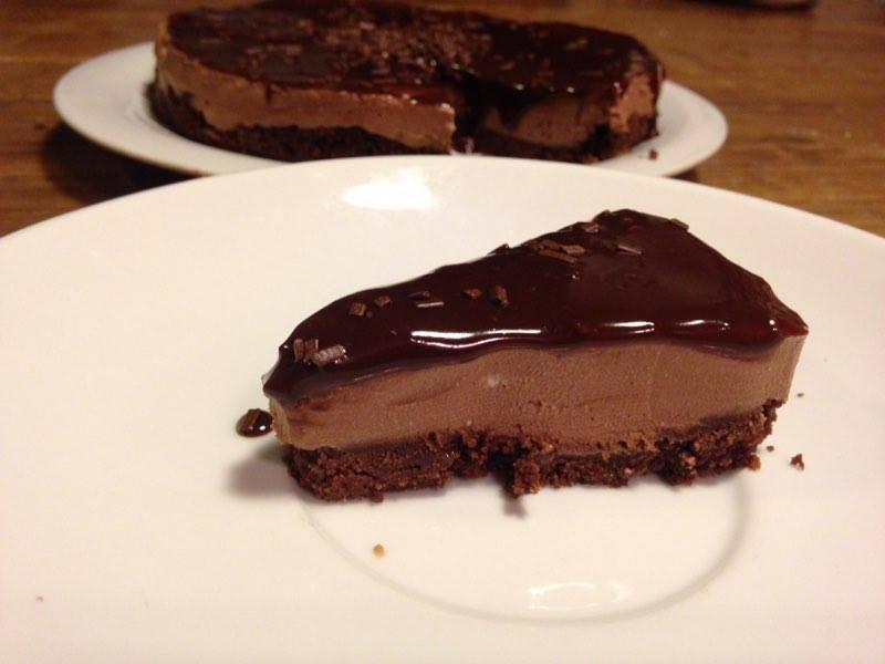cheesecake al cioccolato senza cottura