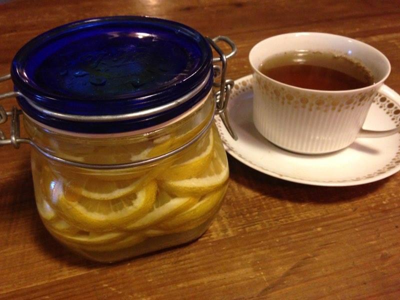 limone sotto zucchero
