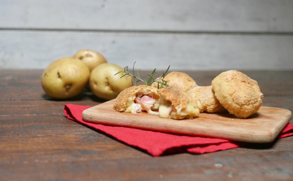 bombe di patate al forno