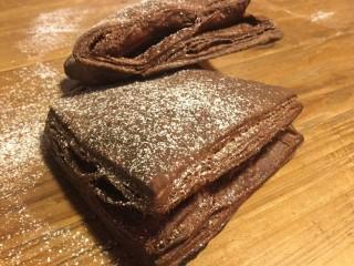 pasta sfoglia facile al cioccolato