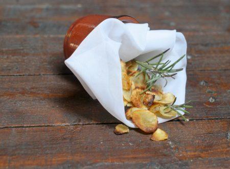 ricetta chips di topinambur