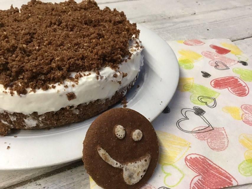 torta smile senza cottura
