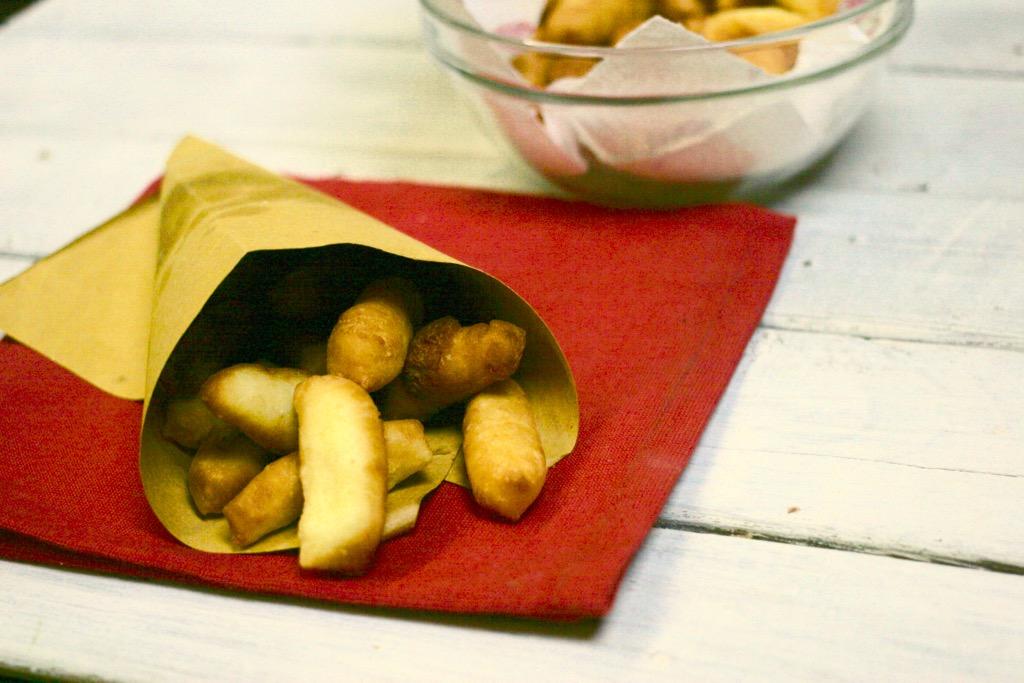 gnocchi di patate fritti