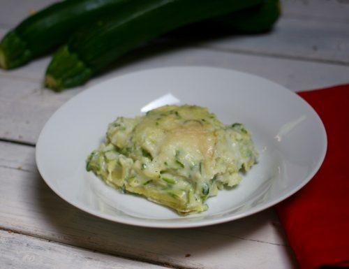 lasagnetta veloce con zucchine