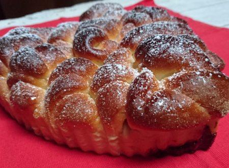torta di cornetti con pasta madre