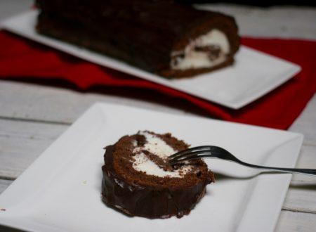 rotolo cioccolato e mascarpone
