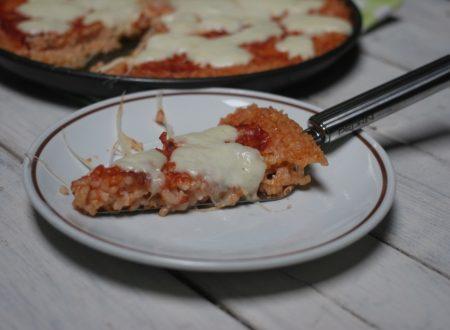 pizza di riso ricetta del riciclo