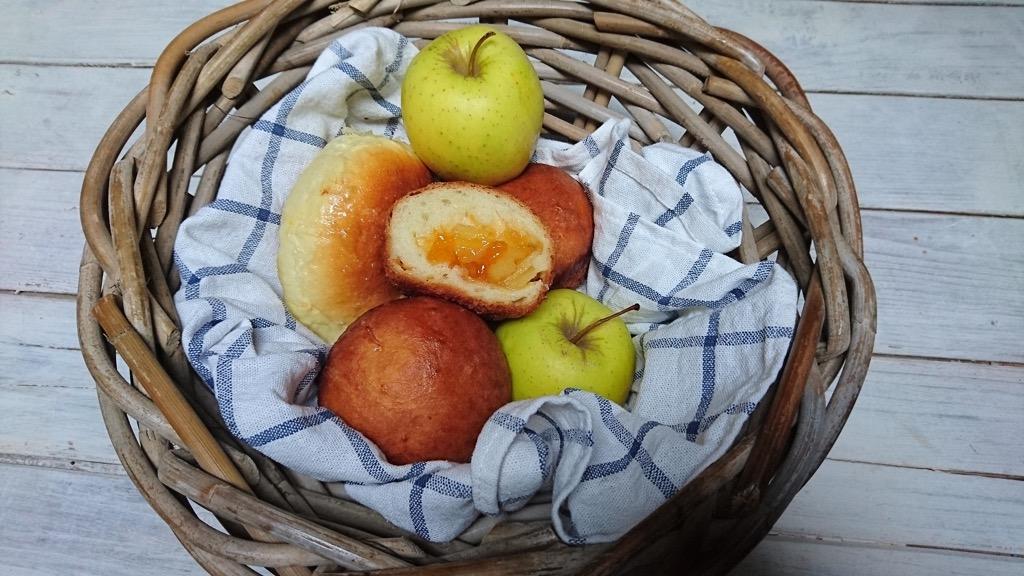 brioche cuor di mele