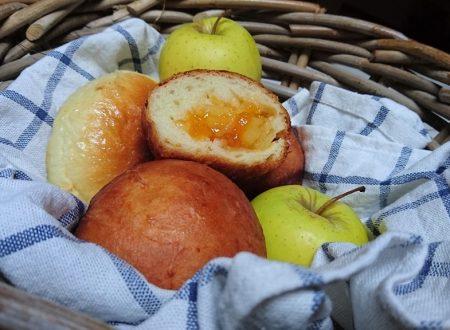 brioche cuor di mela