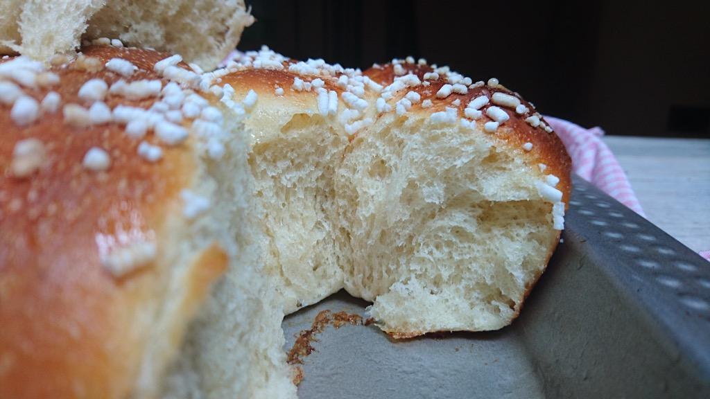 danubio dolce con farina tipo 1