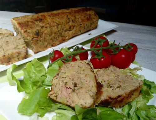 polpettone di tonno patate e zucchine
