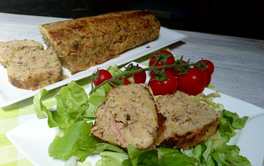 polpettone di tonno e patate e zucchine