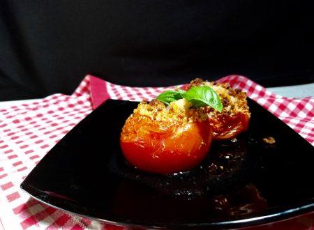 pomodori gratinati alla pizzaiola