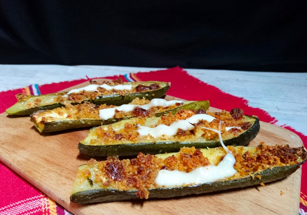 zucchine gratinate alla pizzaiola