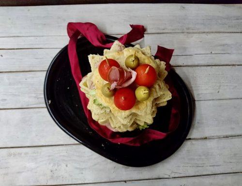 pandoro gastronomico a lievitazione naturale