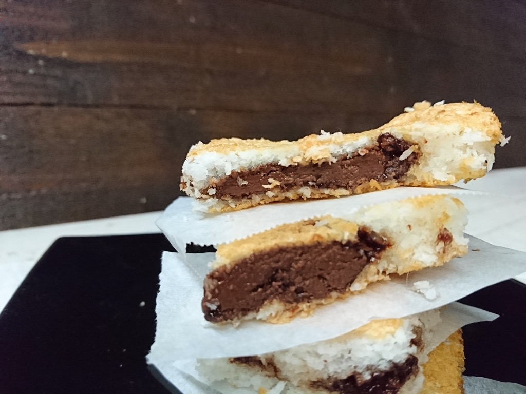 torta semplicissima cocco nutella e albumi