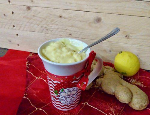 crema pasticciera vulcanica allo zenzero e limone